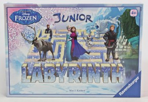 Disney Frozen Junior Labyrinth - Ravensburger 22314 – Bild 1