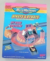 MICRO MACHINES HIWAYS & BYWAYS OFF-ROAD CROSSING NEU
