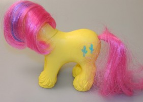 My little Pony / Mein kleines BIG BROTHER PONY TEX Hong-Kong 87